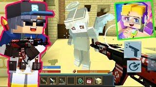 AK-47{ Tam Yükseltme }Blockman Git - Yapı ve Ateş / /