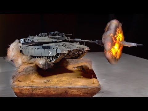 "Diorama ""Desert Hero"" How To Make"