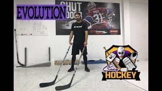 Crazy Hockey Show #03 - Evolution - rozdíl mezi dřevěnou a kompozitovou hokejkou