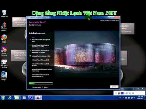 Clip-Huong-Dan-cai-dat-Revit-Art-2011----revit.edu.vn