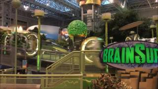 MSP airport fun at nearby Mall of America Hard Rock Rides