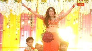 Gauhar Khan's rocking dance performance during Dhanak's 'Muhdikhai' ceremony | Gathbandhan