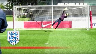 England Women's Goalkeepers In Good Form | Inside Training
