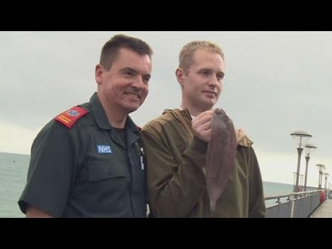 Man Who Accidentally Swallowed Live Fish Thanks Paramedics That Saved Him