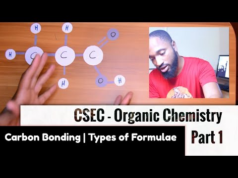CSEC - Organic Chemistry [1] Carbon Bonding