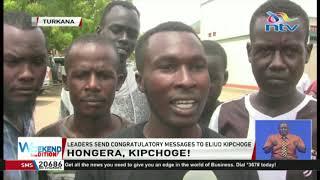 All hail Eliud Kipchoge: Wave of celebration sweeps through Kenya