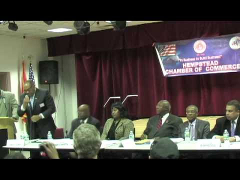 Hempstead Village Mayor's Candidates Forum at the African American Museum