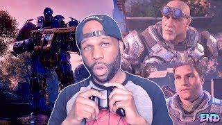 Gears Of War 4 Walkthrough Gameplay Part 23 - Game Ending (Insane Difficulty)