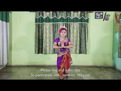 Traditional classical dance by a girl