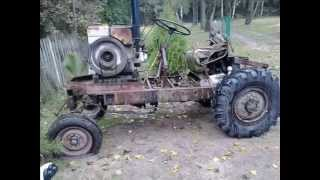 Ciągnik sam - Przebudowy   Tractor alone - Remodeling