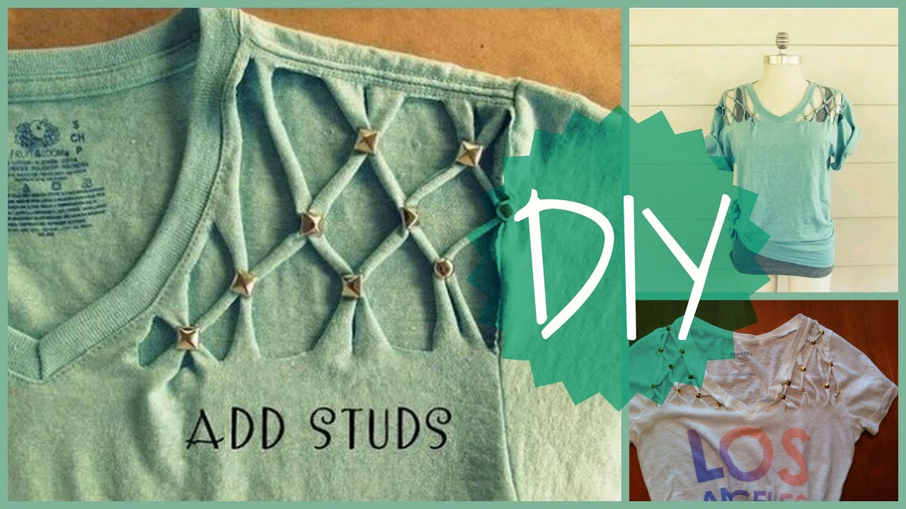 Diy Clothes For Summer Fun And Easy Diy T Shirt Idea For The Summer Youtube