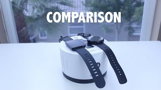 Repeat youtube video Moto 360 vs LG G Watch - Which Is Better?