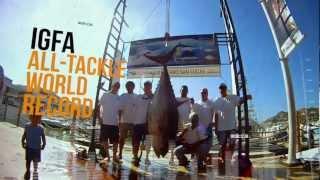 World Record Yellowfin Tuna
