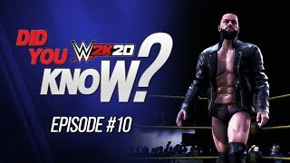 WWE 2K20 Did You Know?: Update Superstars, Hidden Moves, Unique Reversals & More! (Episode 10)