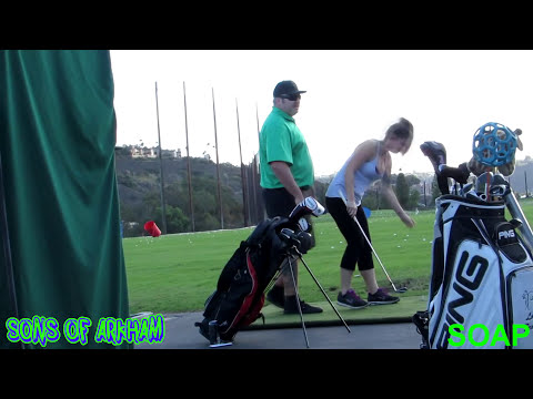 HANDS ON GOLF LESSONS  PRANK WITH CHESTER FELTERSNATCH