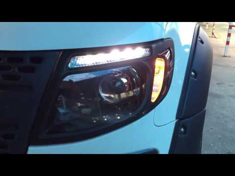 Ford Ranger T6 BMW HID Projector & DRL