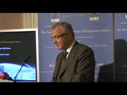 Commissioner Olli Rehn speaks in Dublin on Economic Governance in the European Union