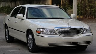 Lincoln Town Car Designer Series - Walk Around
