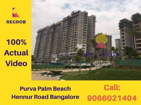 Purva Palm Beach residences Hennur Road Bangalore