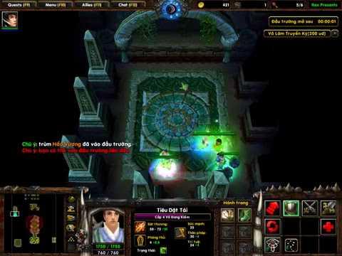 Warcraft 3 Map Vo Lam Truyền Kỳ Ai Youtube