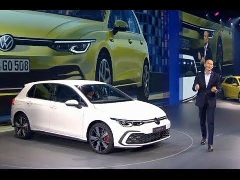2020 VW Golf 8 Unveiling Volkswagen