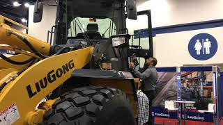 Video still for Liugong Wheel Loader Showcased at World of Asphalt 2018