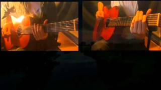 Pink Floyd Grantchester Meadows Cover  guitars 1.2.3.