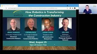 Robotics Industry Spotlight:  How Robotics is Transforming the Construction Industry