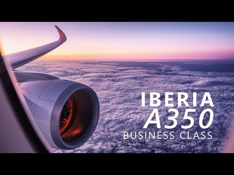 Iberia A350 Business Class Review | New York to Madrid