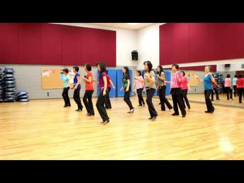 Won't Back Away - Line Dance (Dance & Teach in English & 中文)