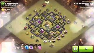 Clash of Clans 3 Stelle th 8 full draghi e fulmini