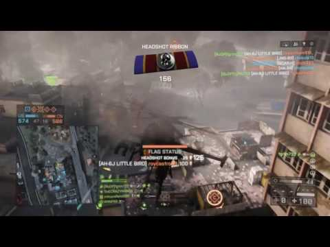 BF4: Flood Zone Scout Helicopter 110 KILLS! CHRISTMAS NOOBS Special!