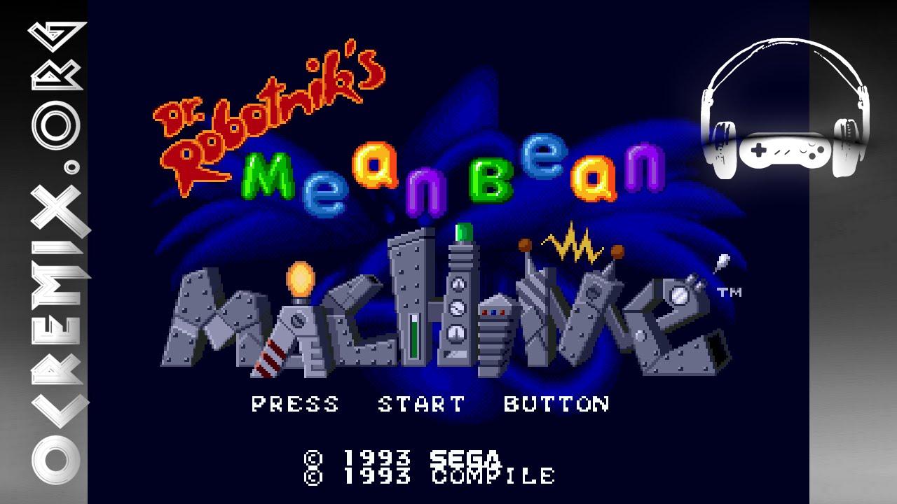 dr robotnik mean bean machine music