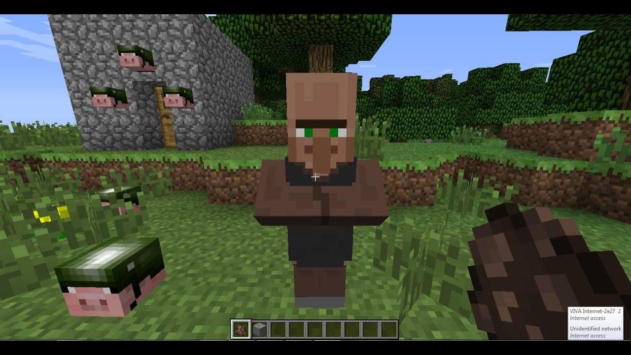 Minecraft Baby Villager - YouTube