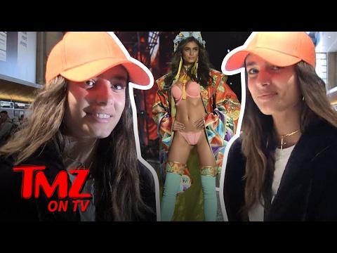 VS Model Taylor Hill: Brains Vs. Beauty   TMZ TV