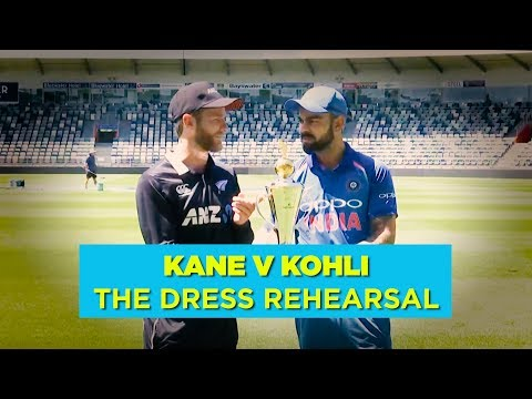 Kiwis, India In World Cup Preps