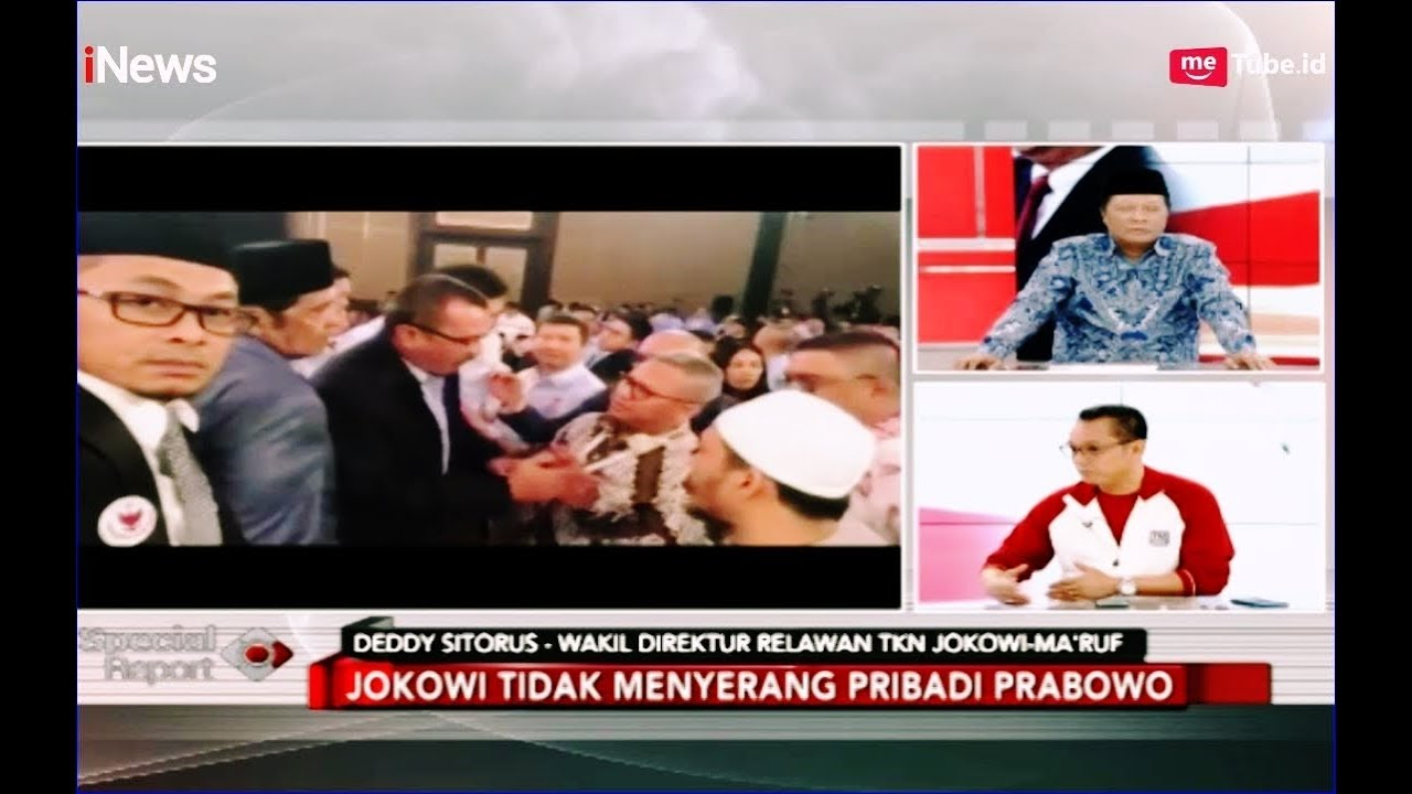 PANAS! Video Protes Ferdinand saat Jeda Debat Sampai Luhut Turun Tangan - Special Report 18/02