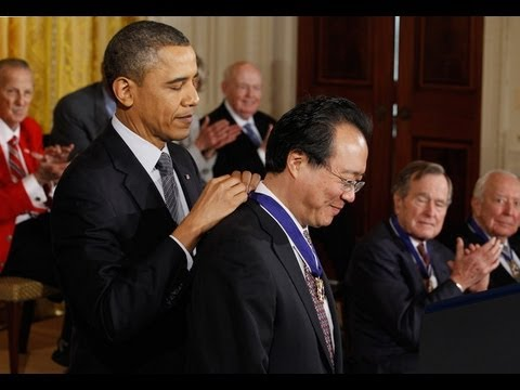 Yo-Yo Ma Honored By President Obama