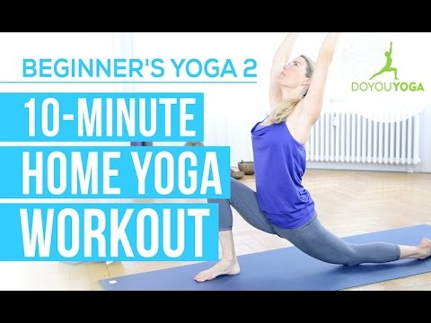 ten minute home yoga workout  session 2  yoga for