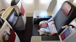 Austrian Airlines Boeing 777 Business Class Sri Lanka to Vienna (my favorite European airline!)