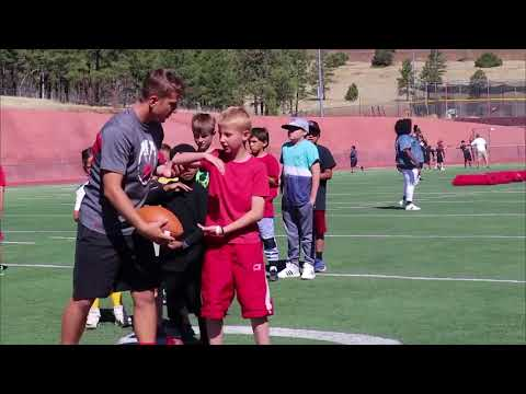 Coconino High School Hosts Youth Football Camp - NAZ Today: Lifestyle