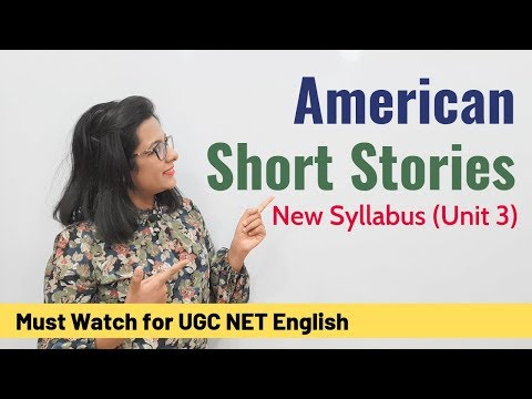 Must Read American Short Stories: Unit 3 New Syllabus (UGC NET English)