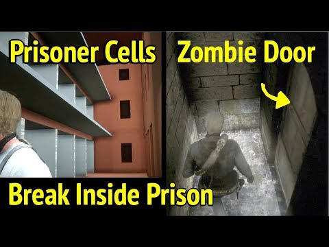 Enter Zombie Door and Prison Cells in Red Dead Redemption 2 (RDR2): Sisika Penitentiary thumbnail