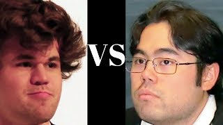 Amazing Chess Game : Magnus Carlsen vs Hikaru Nakamura – Tata Steel R12 – Sicilian Kalashnikov