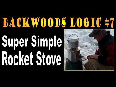 HOW TO BUILD A SUPER SIMPLE ROCKET STOVE