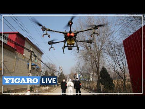 �� Face au CORONAVIRUS, la Chine utilise des drones