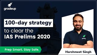 100 days Strategy to clear the IAS Prelims 2020