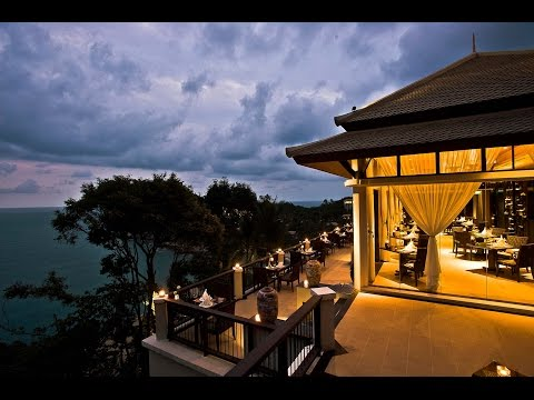 Saffron Restaurant At Banyan Tree Koh Samui