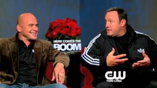 Here Comes the Boom: Kevin James, Bas Rutten Interview