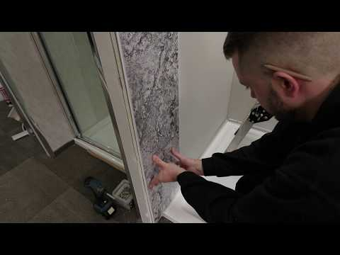 Fitting Bathroom Shower Panels